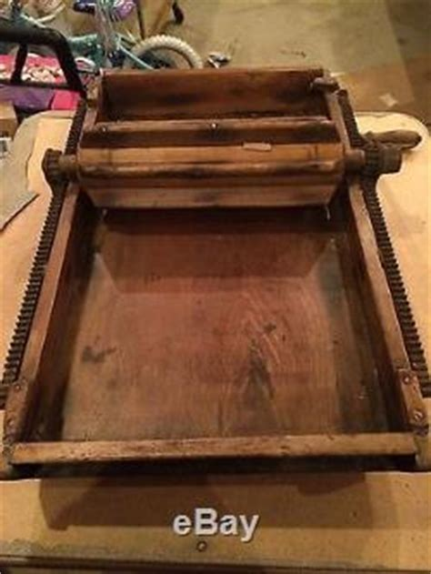 Antique Primitive Butter Working Table / Churn 1875