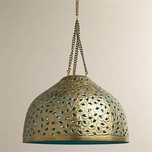 Desiree, Metal, Bell, Pendant, Lamp