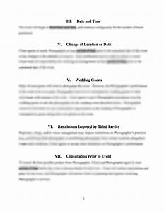 wedding photography service contract With wedding photography cancellation contract