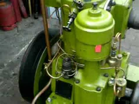 bolinder eskilstuna hotbulb semi diesel engine youtube