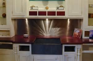 Stainless Steel Backsplashes For Kitchens Stainless Steel Backsplashes Custom