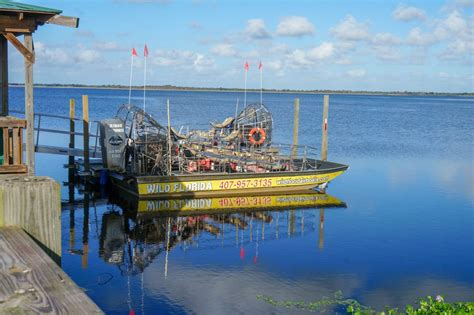 Boat Rides In Florida by Airboat Ride At Florida Nature Park Kissimmee