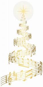 Music Christmas Tree Clipart - ClipartXtras