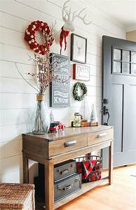 Great, Christmas, Entryway, Ideas, And, Decor, Tips, To, Make, It, Look, Inviting