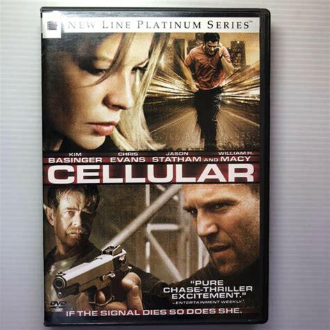 CELLULAR DVD FEATURING KIM BASINGER, CHRIS EVANS, JASON ...