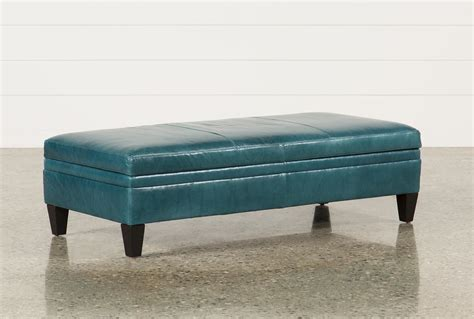 blue ottoman coffee table furniture beautiful blue storage ottoman for living room