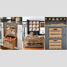 Wooden Crate Drawers  Why Every Country Kitchen Needs One