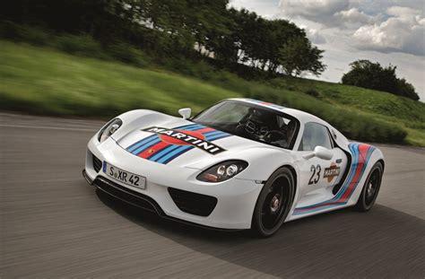 The 918 spyder has no belts to replace. Porsche 918 Spyder Gets Legendary Martini Racing Team Brand Livery