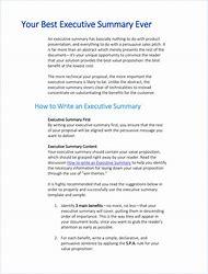 Executive summary in apa format jcmanagement executive altavistaventures Images