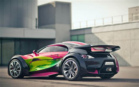 Citroen Survolt Concept Car Wallpapers