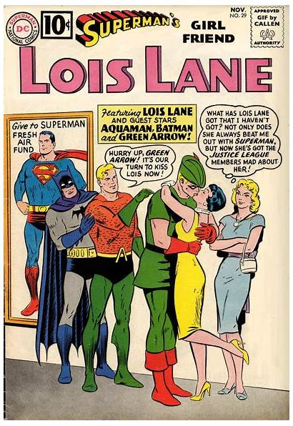 Animated Covers Comic Lois Kerry Callen Lane