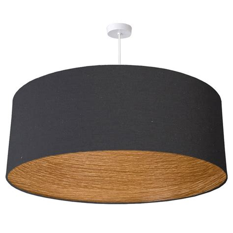 oversize oak wood lined ceiling shade by quirk