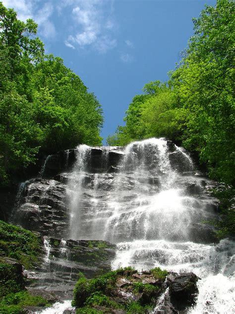 Free Waterfall Photo by Waterfall Free Stock Photo A Large Waterfall