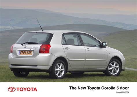 website toyota the 2004 toyota corolla toyota uk media site
