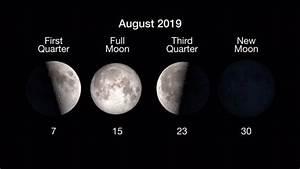 August 2019 Skywatching Sights   U2018shooting Stars  U2019 New Moon
