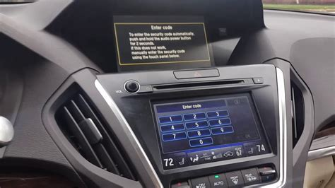 Bypass Radio Or Navigation Code On Newer Acura And Honda