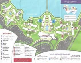 Disney Art Animation Resort Map