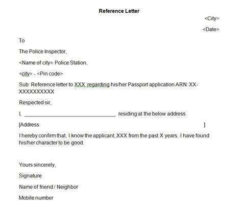 switch hit passport reference letter   tips india