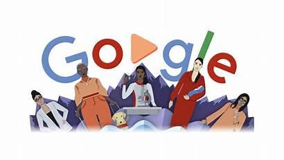 International Doodles Google Womens Logos