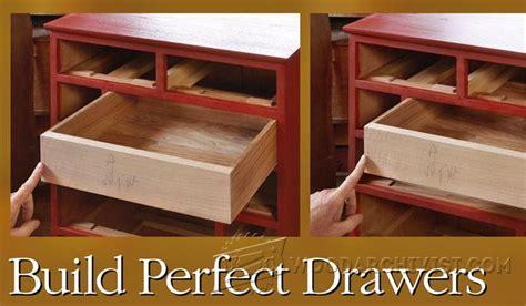 build drawers woodarchivist