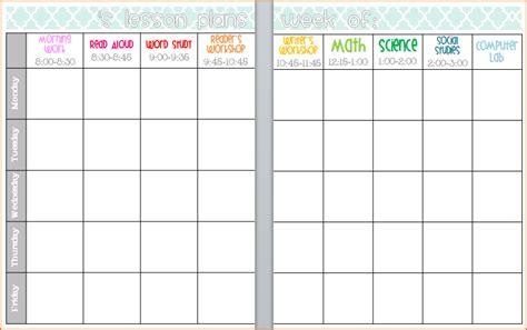 editable lesson plan 5 editable lesson plan template teknoswitch