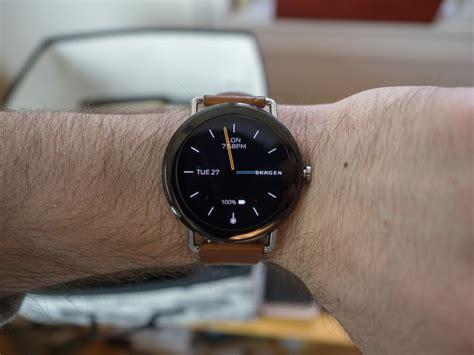 skagen falster smartwatch review minimalist design