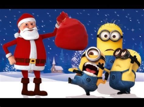 minions merry christmas   despicable  youtube