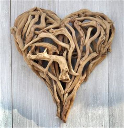 Driftwood, love heart hanger, home decor, wall hanging, ceramic sculpture, gift idea, birthday, christmas, valentines #etsy #housewares #homedecor #white #brown #birthday #christmas #entryway #ceramicspottery #walldecor. Driftwood Heart, 2 Sizes by Sugarboo Designs Modern Chic Home