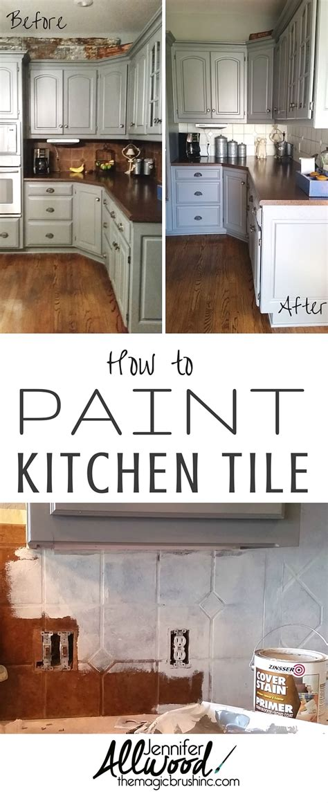 how to paint kitchen tile how to paint kitchen tile and grout an easy kitchen update 7312