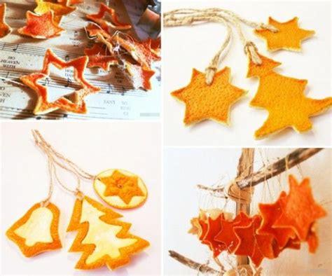Len Aus Naturmaterialien by Weihnachtsschmuck Basteln Kreative Bastelideen Mit Orangen