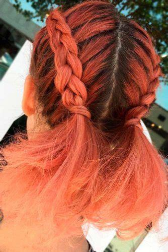 simple braids  short hair   dazzling