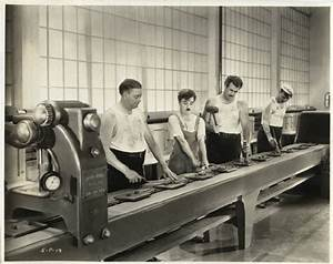Charlie Chaplin On The Fordist Assembly Line Where He