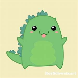 Kawaii Godzilla by RoySchweikart on DeviantArt