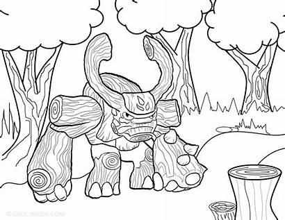 Skylanders Coloring Pages Skylander Giants Giant Colouring