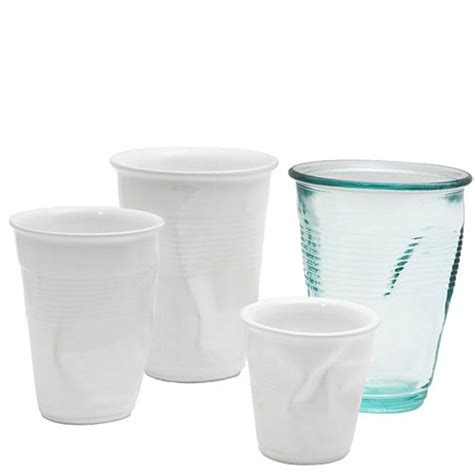 Rob Brandt's Crushed Crinkle Cups   Glasses. So many riffs