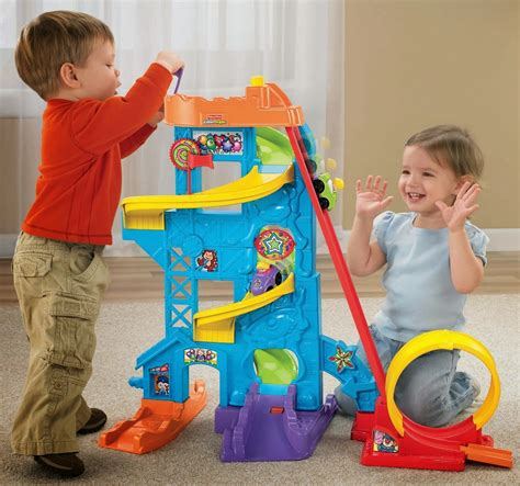 christmas gifts for 2 3 year olds fisher price wheelies loops n swoops amusement park best and top toys for gifts