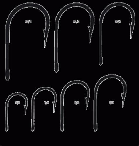 mustad hook size chartwhy   mustad hooks
