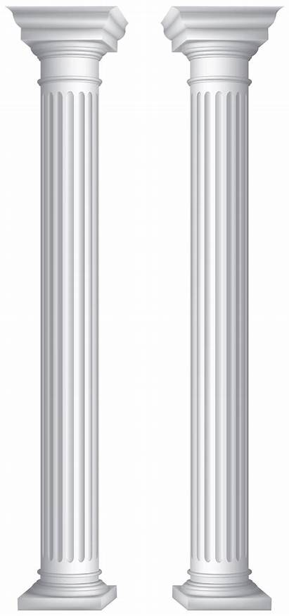 Columns Clip Clipart Transparent Fences Yopriceville Previous
