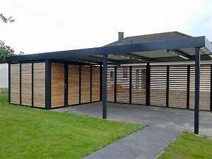 Holzanbau Am Haus : best 20 carport mit ger teraum ideas on pinterest ~ Lizthompson.info Haus und Dekorationen