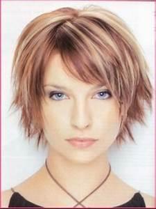 Coupe Courte Pour Visage Rond : coupe de cheveux courte pour visage rond ~ Melissatoandfro.com Idées de Décoration