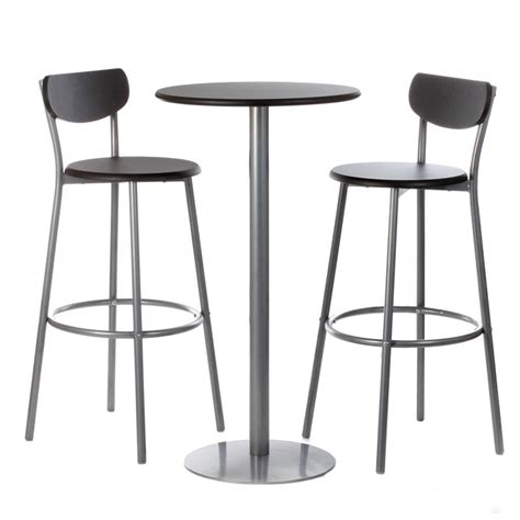 but table de bar table et chaise de bar cuisine en image