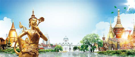 thaiinspired travel poster banner thailand customs