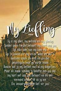 #afrikaans #myl... Diepgaande Liefdes Quotes