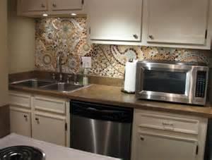 how to do a kitchen backsplash 16 wonderful mosaic kitchen backsplashes