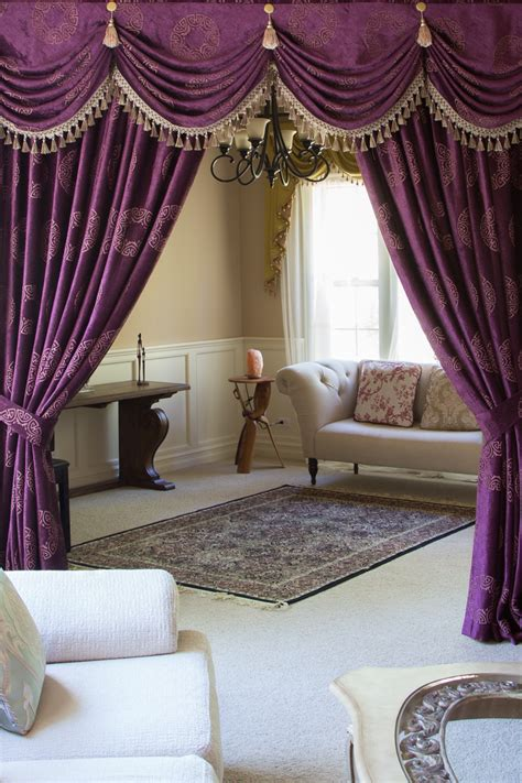 Swag Drapes And Curtains - austrian swag valances curtain drapes orchid imperial