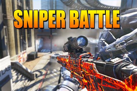 call  duty advanced warfare sniper  game mode