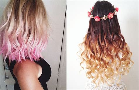 Dyed Hairstyles by 20 Dip Dyed Hairstyles That Ll Make You Think O