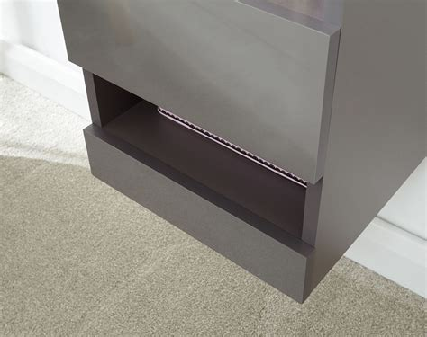 Otviap coffee table led black modern style furniture living room storage with drawer and light com. GALICIA COFFEE TABLE WALL MOUNTED SIDEBOARD CABINET TALL SHELF UNIT W/ LED GREY | eBay
