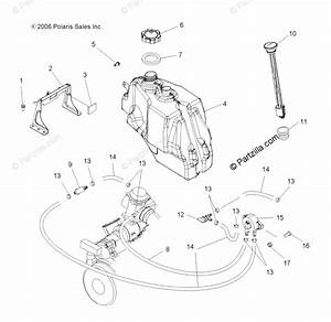 Polaris Atv 2007 Oem Parts Diagram For Fuel System