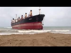 TOP 5 SHIPS CRASHING INTO SHORE YouTube